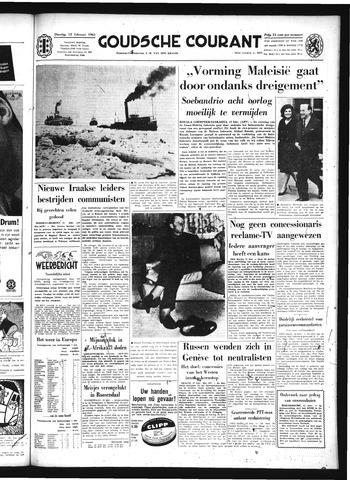 Goudsche Courant 1963-02-12