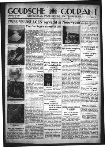 Goudsche Courant 1940-04-25