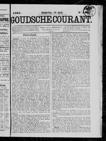 Goudsche Courant 1865-04-20
