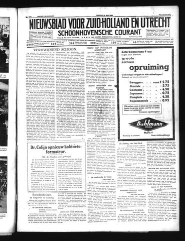 Schoonhovensche Courant 1939-07-14