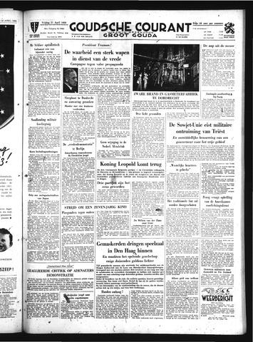 Goudsche Courant 1950-04-21