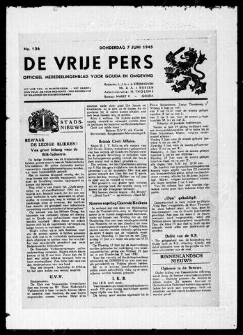 De Vrije Pers 1945-06-07
