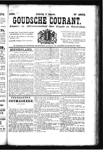 Goudsche Courant 1891-08-13