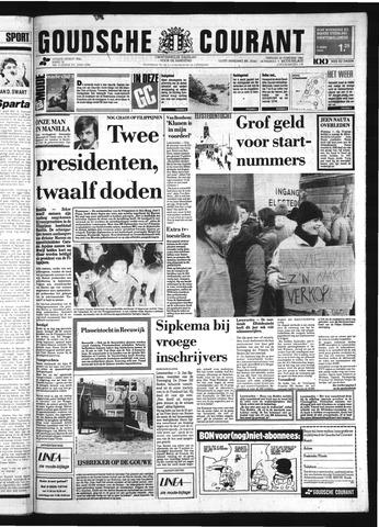 Goudsche Courant 1986-02-25