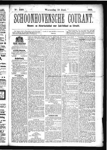 Schoonhovensche Courant 1901-06-19