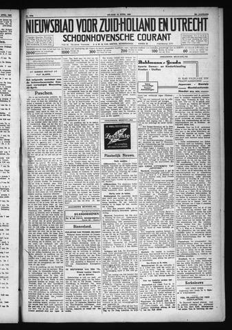 Schoonhovensche Courant 1930-04-18