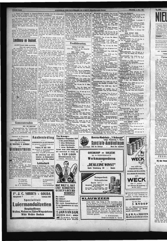 Schoonhovensche Courant 1931-07-05