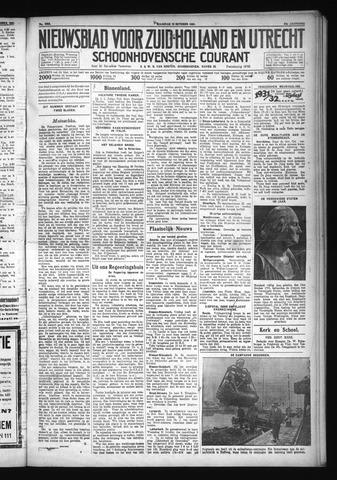Schoonhovensche Courant 1931-10-19