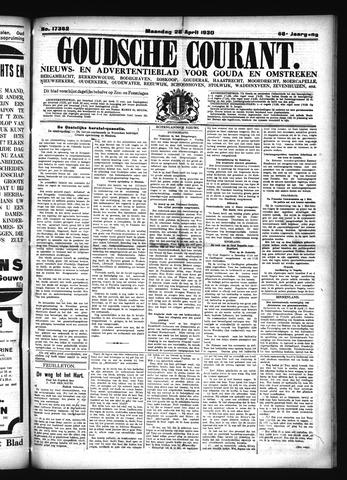 Goudsche Courant 1930-04-28