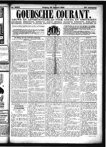 Goudsche Courant 1926-01-29