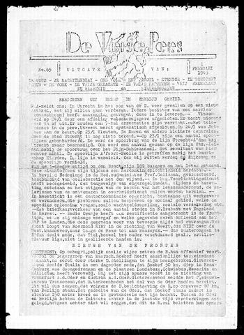 De Vrije Pers 1945-02-01