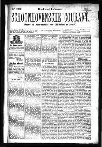 Schoonhovensche Courant 1903-01-01
