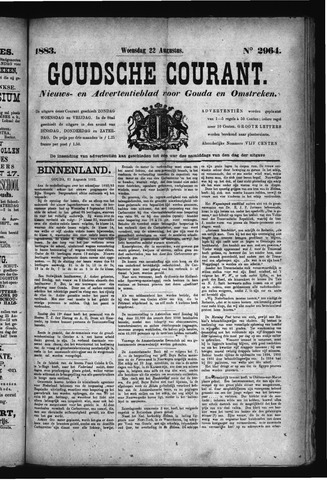 Goudsche Courant 1883-08-22