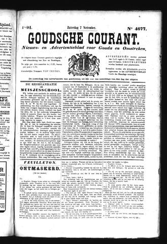Goudsche Courant 1891-11-07