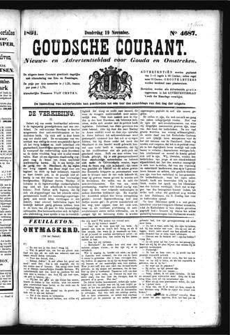 Goudsche Courant 1891-11-19