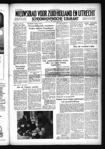 Schoonhovensche Courant 1954-04-20