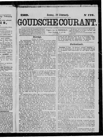 Goudsche Courant 1869-02-28