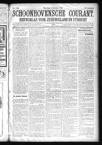 Schoonhovensche Courant 1926-10-18