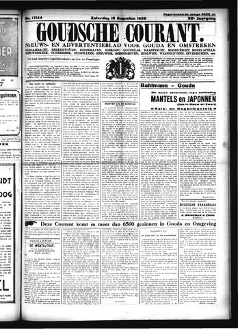 Goudsche Courant 1929-08-10