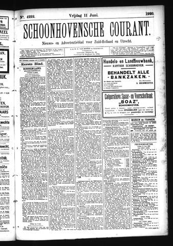 Schoonhovensche Courant 1920-06-11