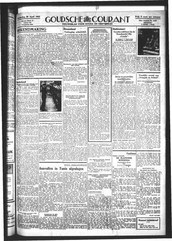 Goudsche Courant 1943-04-29