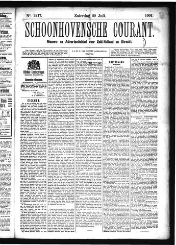 Schoonhovensche Courant 1901-07-20