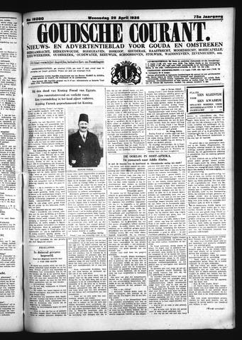Goudsche Courant 1936-04-29