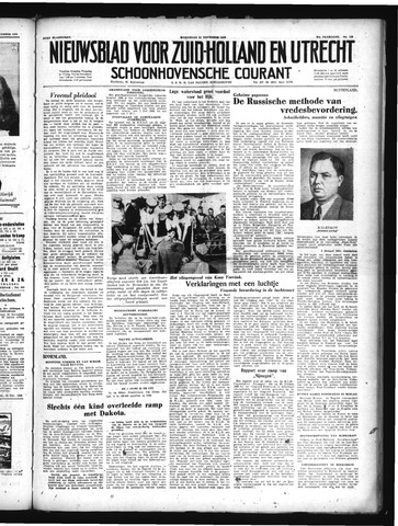 Schoonhovensche Courant 1949-11-23