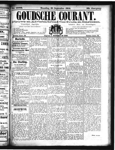 Goudsche Courant 1914-09-28