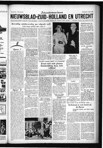 Schoonhovensche Courant 1960-01-27