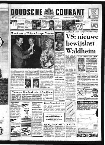 Goudsche Courant 1987-04-29