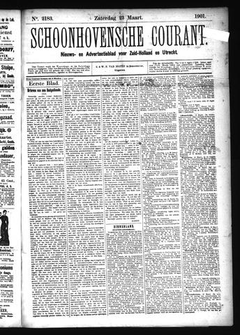 Schoonhovensche Courant 1901-03-23