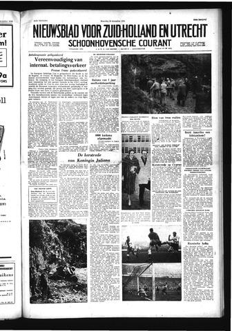 Schoonhovensche Courant 1958-12-29