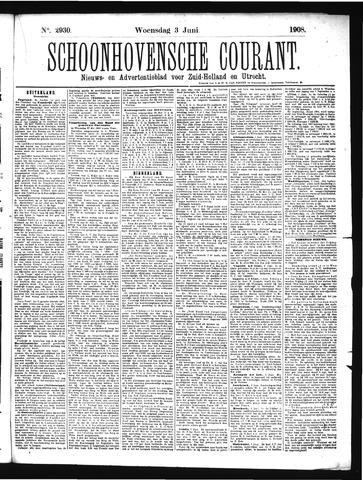 Schoonhovensche Courant 1908-06-03