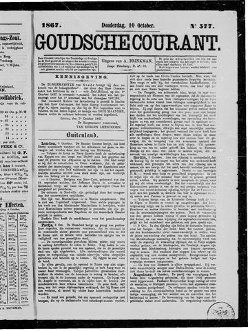 Goudsche Courant 1867-10-10