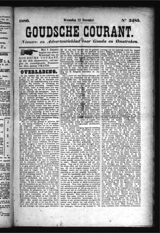 Goudsche Courant 1886-12-22