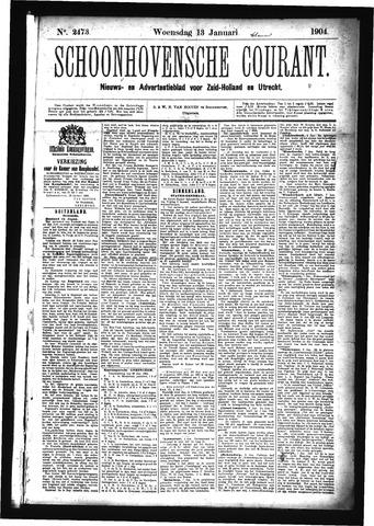 Schoonhovensche Courant 1904