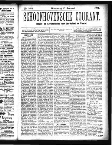 Schoonhovensche Courant 1904-01-27