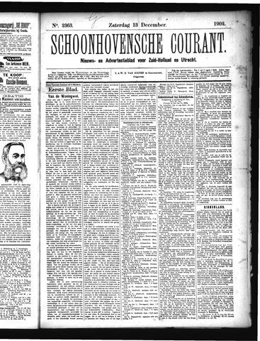 Schoonhovensche Courant 1902-12-13
