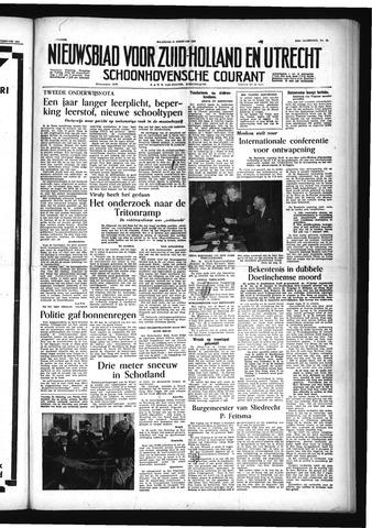 Schoonhovensche Courant 1955-02-21