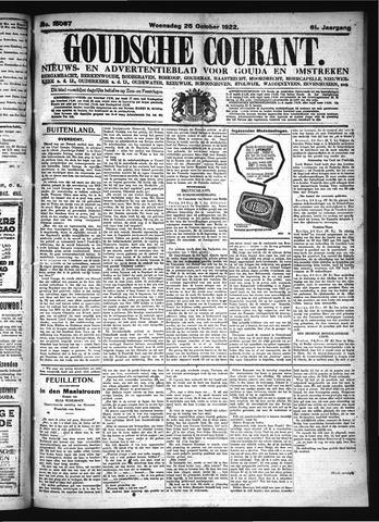 Goudsche Courant 1922-10-25