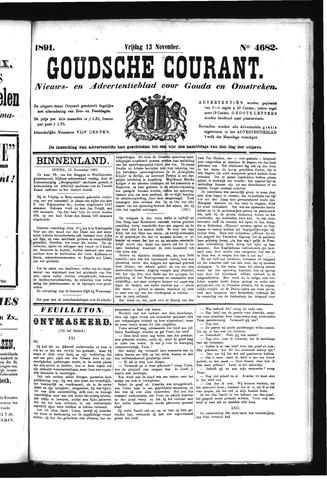 Goudsche Courant 1891-11-13