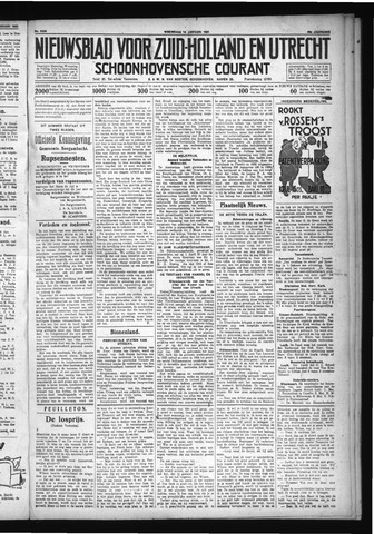 Schoonhovensche Courant 1931-01-14