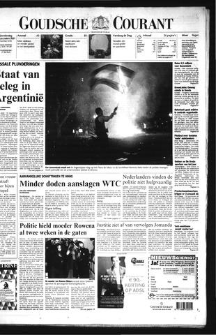 Goudsche Courant 2001-12-20