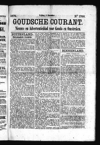 Goudsche Courant 1875-12-03