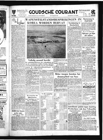 Goudsche Courant 1951-10-22