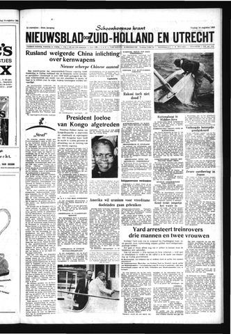 Schoonhovensche Courant 1963-08-16