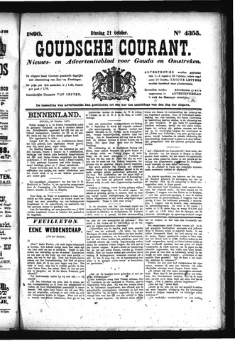 Goudsche Courant 1890-10-21