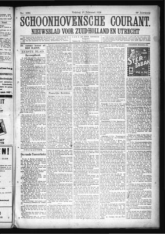 Schoonhovensche Courant 1926-02-19