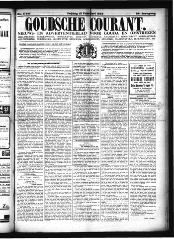 Goudsche Courant 1932-02-12